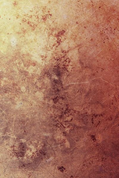 red-orange metallic texture
