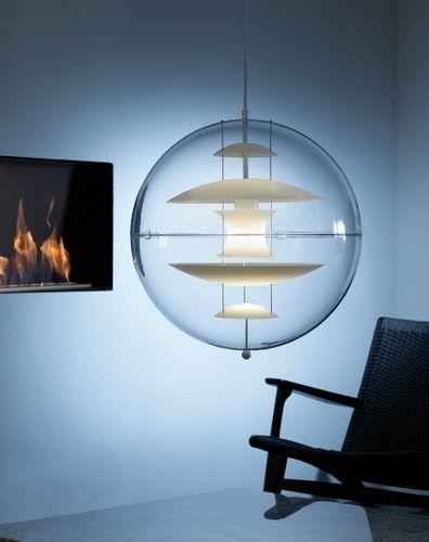 Verner Panton Globe Glass - Taklamper-Hengelamper - Belysning