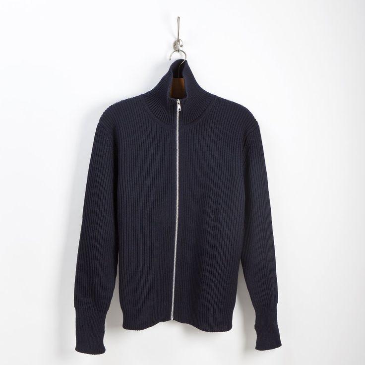 NAVY - full-zip - blue | Andersen-Andersen