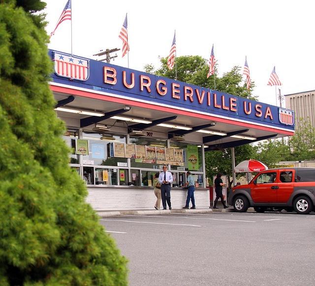 Original Burgerville in Vancouver, Washington