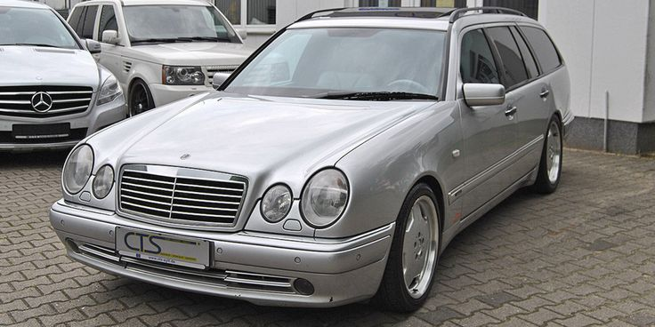 A Mercedes E55 AMG Wagon Once Owned By Michael Schumacher is For Sale