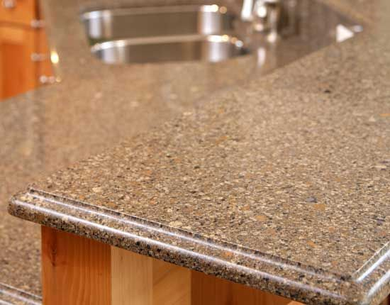 10 best images about countertop edges on pinterest for Silestone vs granite