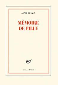 Mémoire de fille - Blanche - GALLIMARD - Site Gallimard