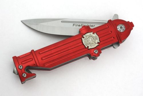 New Firefighter Items! - Fire Hydrant Tactical Knife