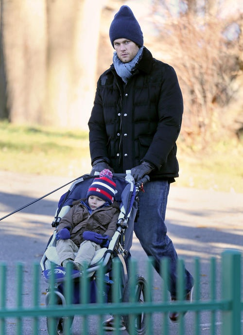 Tom Brady perfect dad