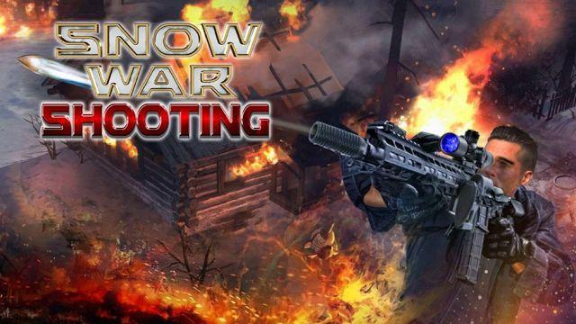 Download Snow War Shooter 2017 Mod Apk Unlimited Money