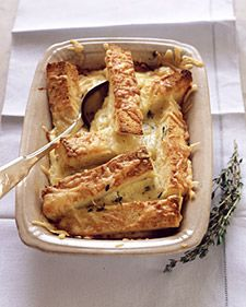 Gruyere Gratin with Thyme - Martha Stewart Recipes