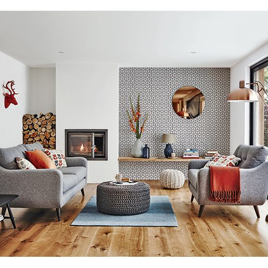 Get A Retro Scandi Look On Budget Contemporary Living RoomsLiving Room