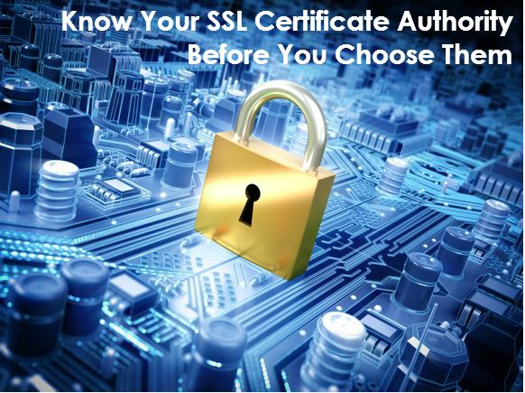 Little guide to help you choose a Certificate Authority!