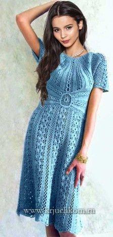 Платье крючком для женщин со схемами http://www.krjuchkom.ru/page/plate-krjuchkom-dlja-zhenshhin-so-shemami#cut
