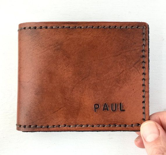 Leather Wallet. Deluxe Leather BiFold Wallet. by FatCatLeather