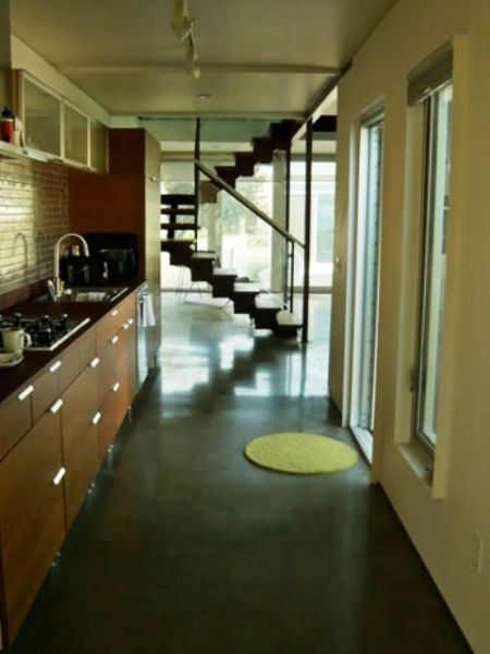 Inside Six Recycled Shipping Container Home Flagstaff