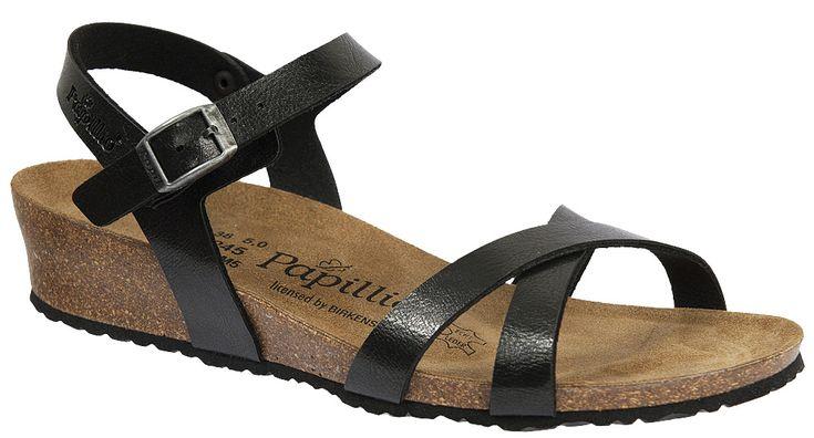 Birks with a heel!  Papillio Alyssa Women's Dressy Wedge Heel Sandal
