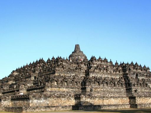Borobudur - aus unserem Koch- und Reisebuch für das iPad.  -  Borobudur - from our cooking- and travelbook for iPad.