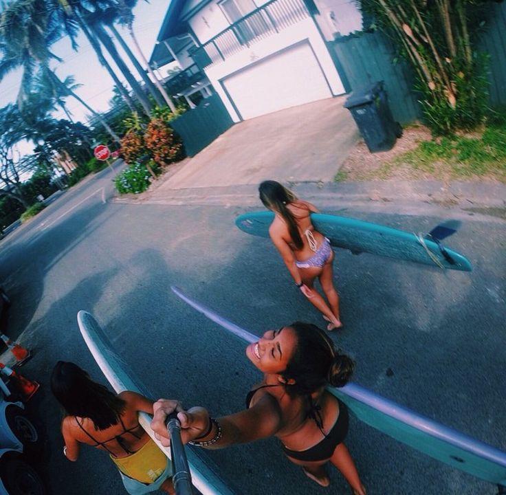 Surf girls...