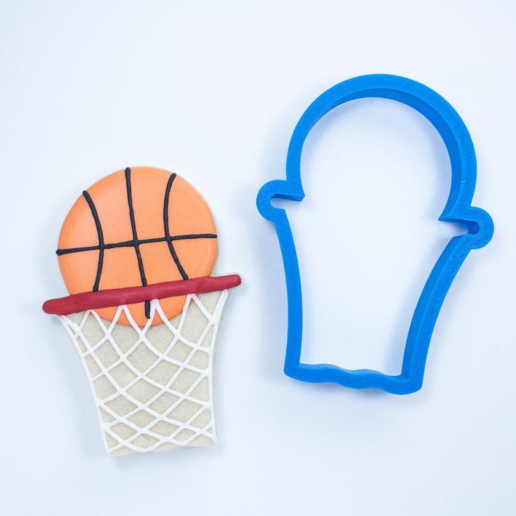 Basketball Hoop With Net Cookie Cutter -  Frosted.co