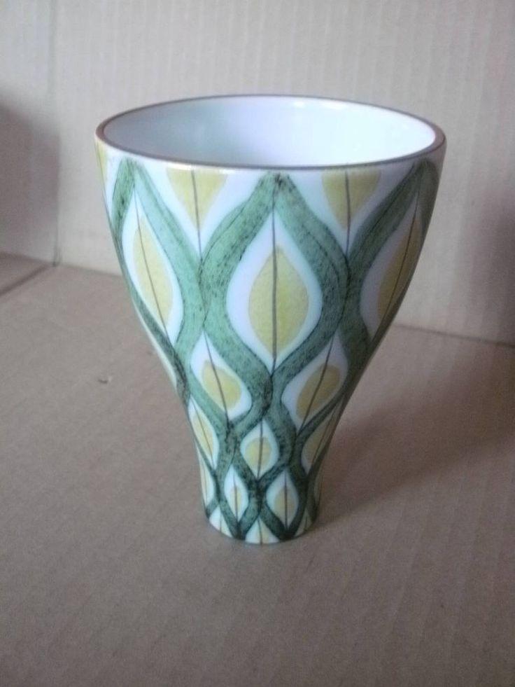 Cool retro candlestick and vase in one STIG LINDBERG Gustavsberg Sweden