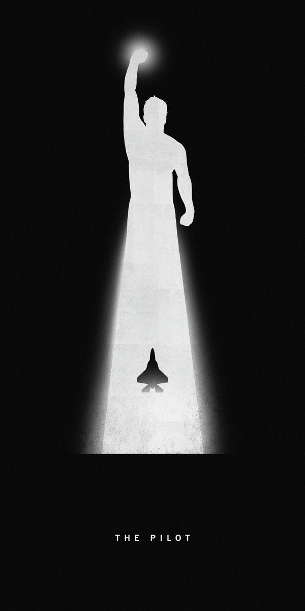 Superhero poster by Khoa Ho. #poster