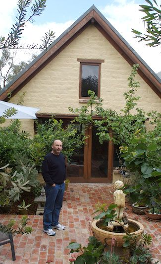 Michael Young - Mudbrick design and construction -