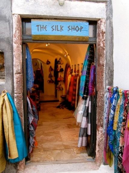 """The Silk Shop"", Oia"