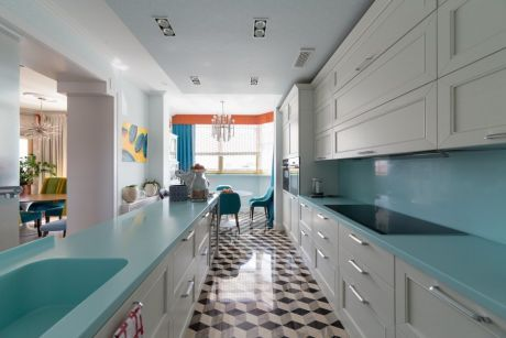Кухня в бело-голубом цвете. Большая кухня. Кухня в современном стиле. #justhome#джастхоум#джастхоумдизайн ❤❤❤️️️Just-Home.ru Бесплатный каталог дизайн проектов квартир. Более 900 практичных и бюджетных проектов . Переходите на сайт и выбирайте лучшее! #кухня #белоголубаякухня #большаякухня #современнаякухня #дизайнкухни#идеидлякухни#интерьеркухни#ремонткухни #интерьерыквартиры #ремонткомнаты #квартира #интерьер #Современныйстиль #дизайнкухни #идеидлякухни #интерьеркухни ...