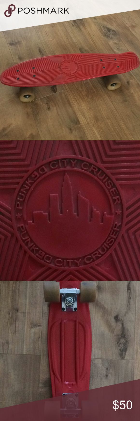 Penny Board red Punked City Cruiser Accessories