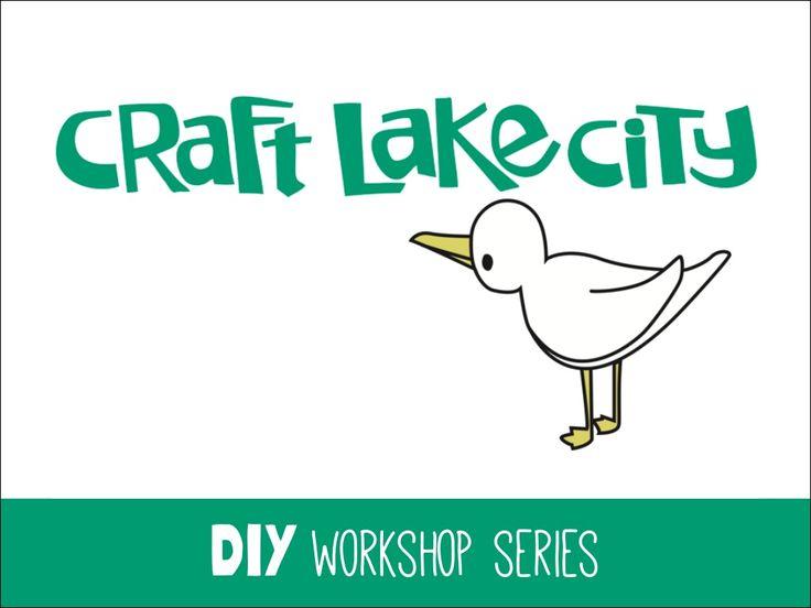 DIY Workshop Handmade Paper by CraftLakeCity via slideshare - prezentacja promująca warsztaty handmade.