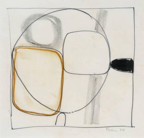 Paul Feiler - Abstract Study 18 (1966)