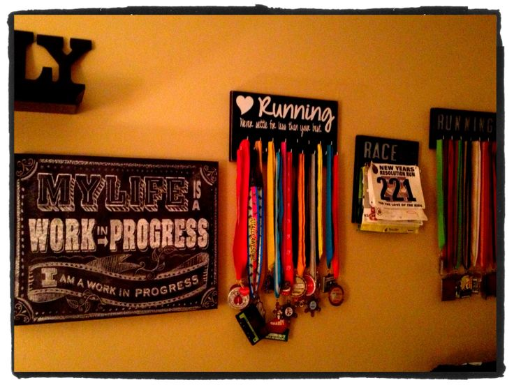 Wall in my workout room :)