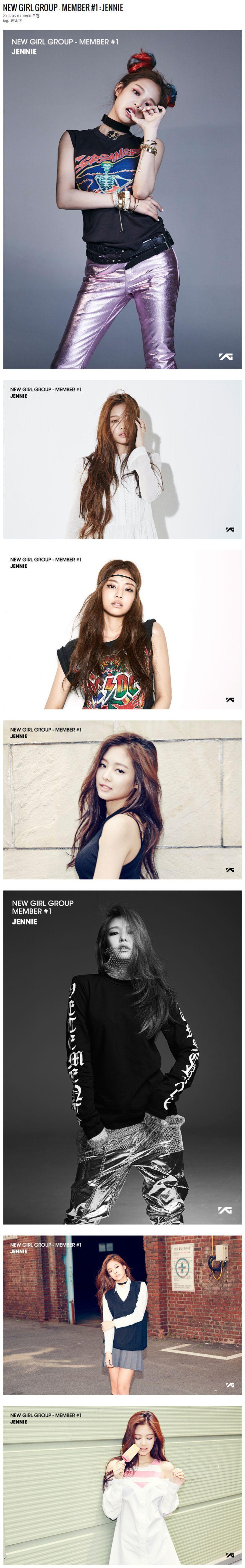 YG LIFE | NEW GIRL GROUP – MEMBER #1 : JENNIE