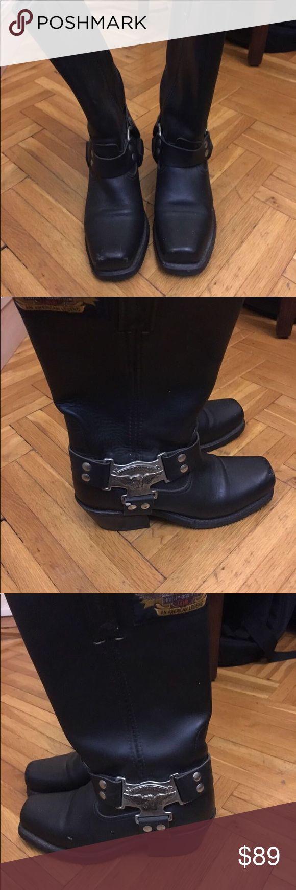 Vintage Harley Davidson Boots İn very good condition worn only once Harley-Davidson Shoes #harleydavidsonboots