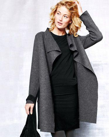 Eileen Fisher Boiled Wool Coat
