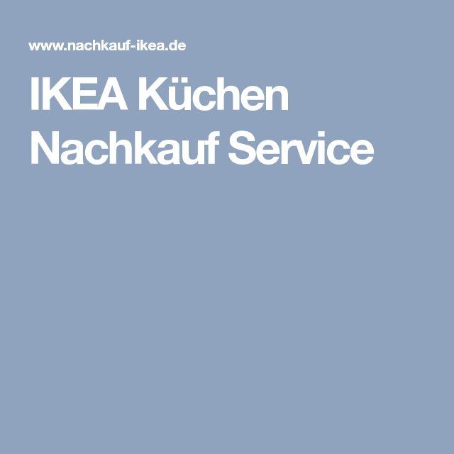 Ikea Kuchen Nachkauf Service