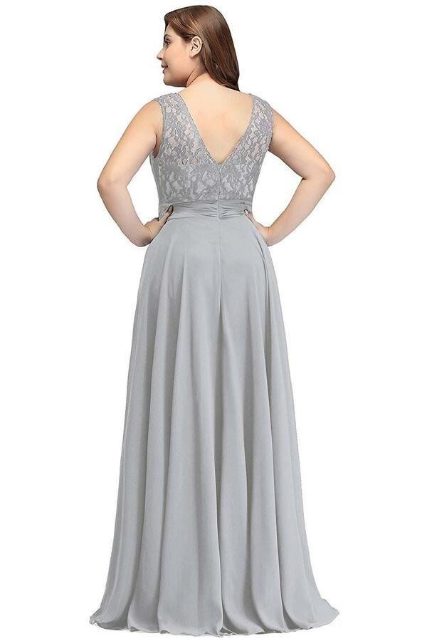 b57a0c95a09470 Babyonline Women Chiffon Long Mother of The Bride Dresses Plus Size Prom  Dresses Chiffon Long Babyonline