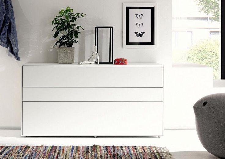 now! by hülsta Sideboard »now! easy«, Breite 128 cm für 699,00€. 5 Jahre Hersteller-Garantie, In hochwertiger Verarbeitung, Grifflos, Made in Germany bei OTTO