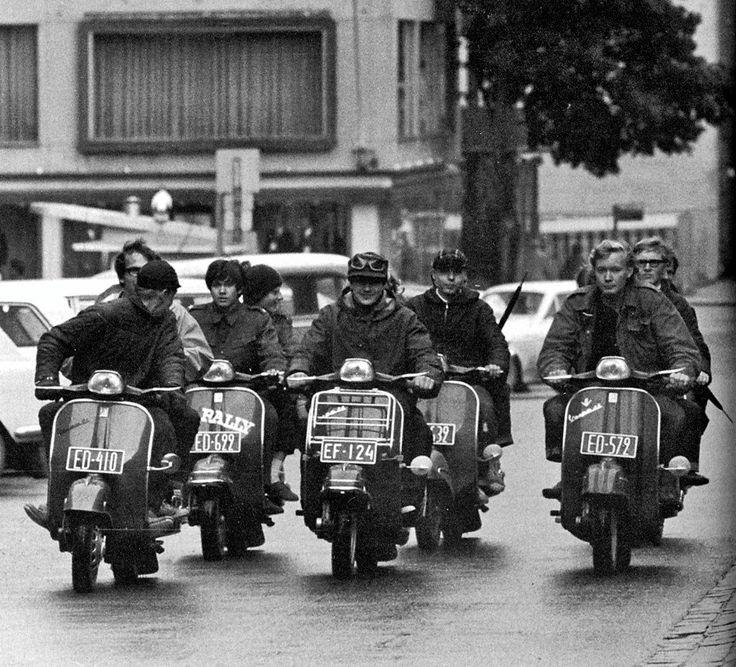 #Vespa #Mod #Upolaiset #Finland #VespaRidersFinland #Turku #1965