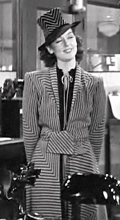 Rosalind Russell in 'His Girl Friday'  I laughed so hard during this movie, my sides hurt for 3 days.