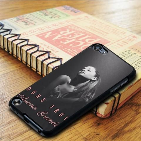 Yours Truly Ariana Grande Black And White iPod 6 Touch Case