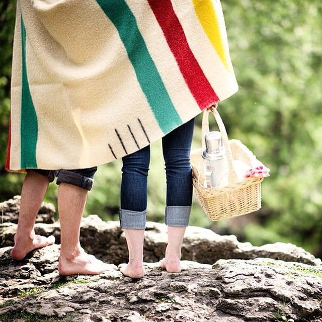 On the weekend, every day is a picnic. #stripespotting  #Regram from @boakviewphotography.