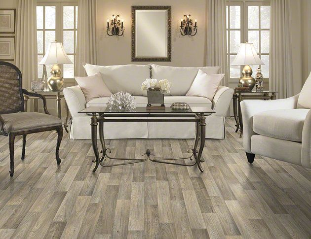 Yes, gray is the latest trend on hardwood floors and many wonder how to get that chic and sleek look.