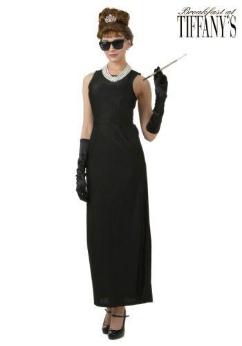 This officially licensed Plus Size Breakfast at Tiffany's Holly Golightly Costume for women is available exclusively from us.