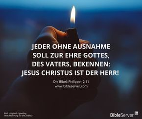 jesus ist der herr! | bibelvers nachlesen auf #bibleserver