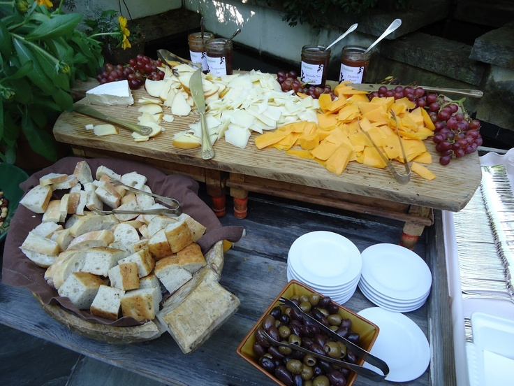 cheese table for wedding | Two Cannoli: Nearly Wordless Wednesday: The SerenBe Wedding
