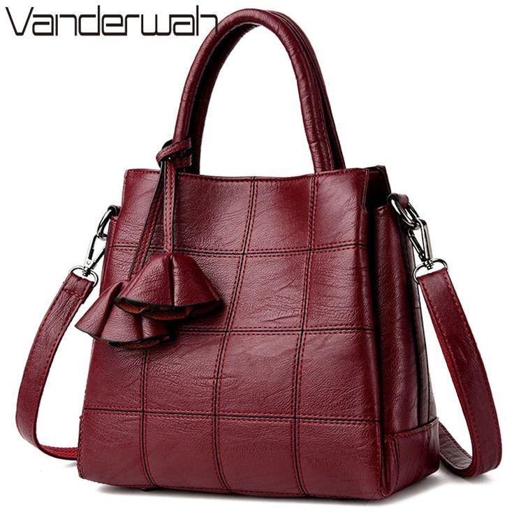 Saco un principal de lujo de cuero de bolsos de las mujeres bolsos de diseñador…