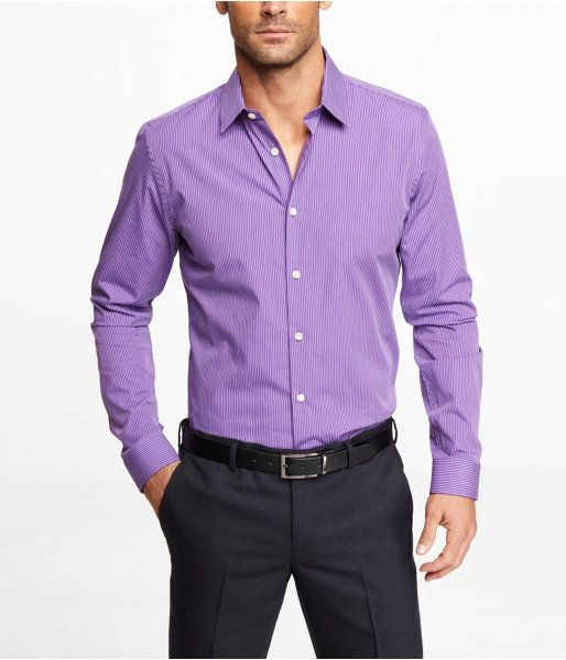 Purple Dress Shirt by Express. Buy for $69 from Express