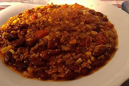 Chili con carne mexikanisch, ein sehr schönes Rezept aus der Kategorie Rind. Bewertungen: 64. Durchschnitt: Ø 4,0.