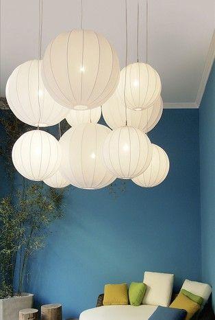 LOVe these balloon lights