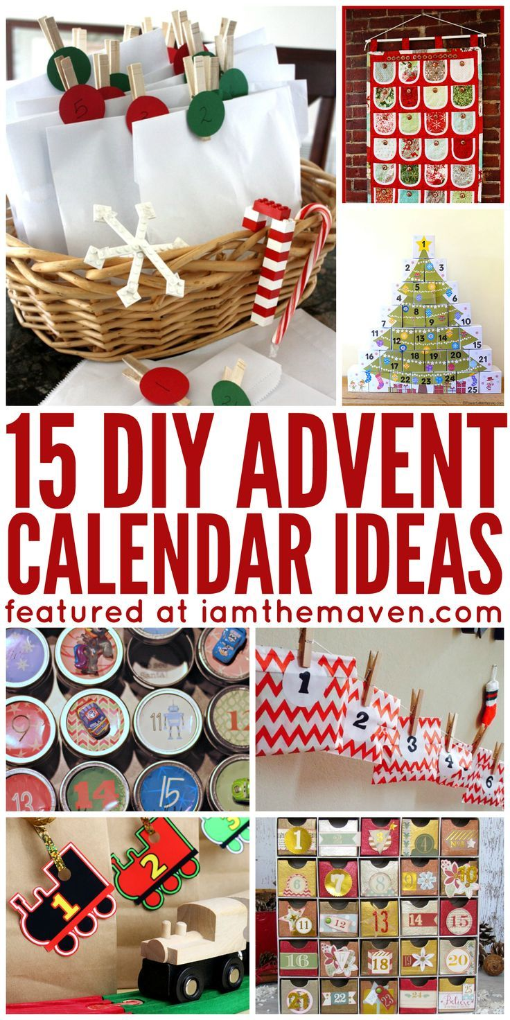 Do you love opening Advent Calendars? You'll love this list of advent calendar ideas!