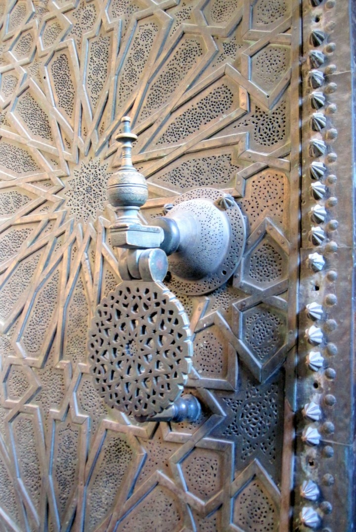 Heurtoir de porte Fés Maroc