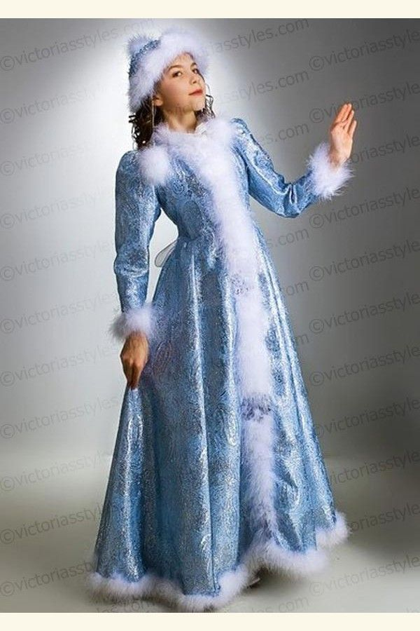 snow maiden costume - Google Search